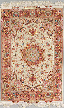 MATTA, Täbris, part silk, ca 154 x 102 cm.