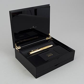 """GRAF VON FABER-CASTELL, reservoarpenna, """"Pen of the Year"""", numrerad 184/1500. 2007."""