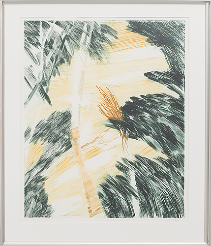 Ulf trotzig, litpgraph in colour, signed and numbered,