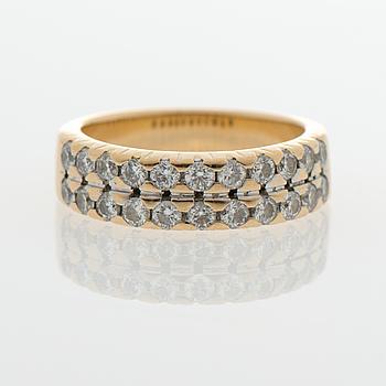 SORMUS, briljanttihiotut timantit, 18K kultaa.