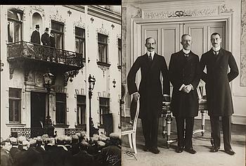 FOTOGRAFIER 2 st Trekungamötet 1914 Küller Malmö.