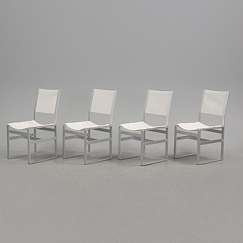 A set of four chairs by Elsa Stackelberg, Fri Form.