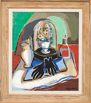 SUZANNE BERTHET, SUZANNE BERTHET, oil on canvas, signed.