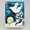 """A marc chagall """"dessins pour la bible"""" with 24 colour lithographes, paris 1960."""