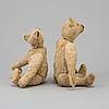 Two steiff teddybears, germany ca 1910