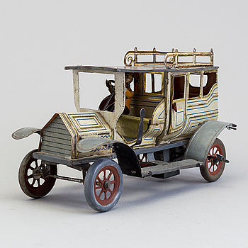a limousine probably by Hans Eberl Germany ca 1910.