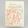 """Book, pablo picasso """"les déjeuners"""", 1962."""