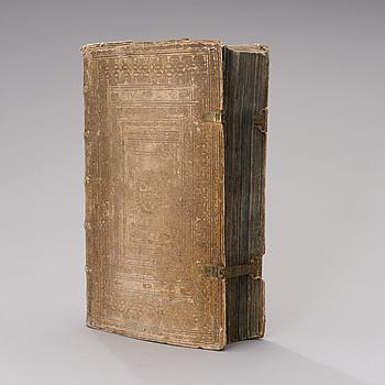 """BOK, """"Commentarius in ecclesiasticum"""" RP. Cornelii A Lapide, Antwerpen 1643."""
