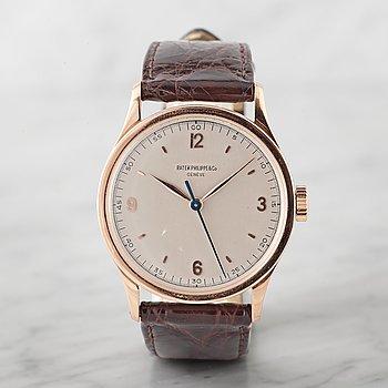 6. PATEK PHILIPPE & Co, Genève, Calatrava, armbandsur, 35,5 mm,