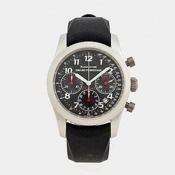 GIRARD-PERREGAUX, Manufacture Ferrari F1, chronograph, wristwatch, 40 mm,