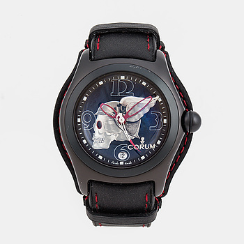CORUM, Bubble, Night Flyer-The Collector Series, armbandsur, 45 mm,
