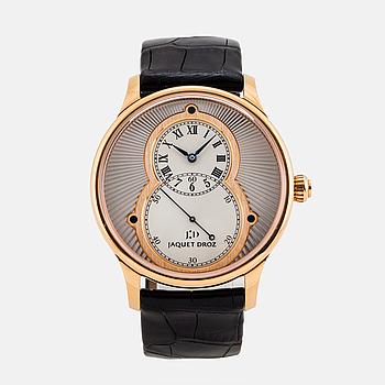 """JAQUET DROZ, Genève,  Grande Seconde """"Hommage"""", armbandsur, 43 mm,"""