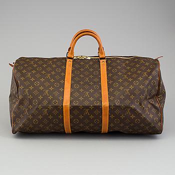 "LOUIS VUITTON, a ""Keepall 60"" bag by Louis Vuitton."