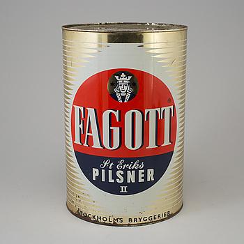 A Fagott beer can, 1960´s.
