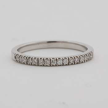 RING, med briljantslipade diamanter ca 0.14 ct.