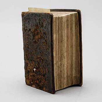 FRANSK-ITALIENSK-TYSKT LEXIKON, Antoine Ouidin, Nouveau et ample dictionnaire de trois langues, Frankfurt, 1674.
