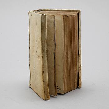 """BOK, Justinianus & Arnold Vinnius, """"D. Justiniani, Institutionum sive elementorum..."""", Amsterdam 1663."""