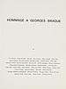 """DerriÈre le miroir, """"hommage a georges braque"""", no. 144-145-146, 1964."""