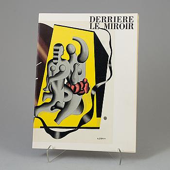 DERRIÈRE LE MIROIR, tidskrift, No. 79-80-81, 1955.