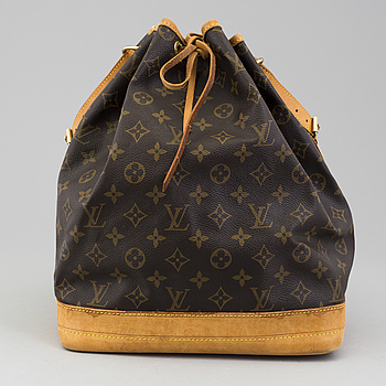 "LOUIS VUITTON, A ""Noé"" monogram canvas bag by Louis Vuitton."