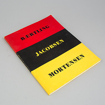 "BOOK, ""Konkret Realism, Baertling, Jacobsen, Mortensen"", Åke Nyblom & Co Boktryckeri AB, Stockholm 1956."