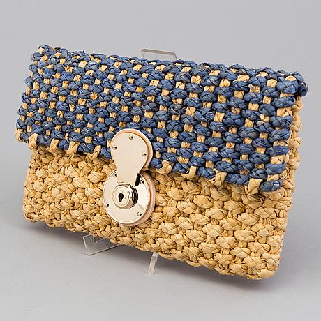 A  bast clutch by ralph lauren