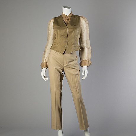 Trousers, shirt and west by ralph lauren