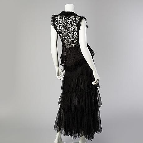 Top samt kjol, ralph lauren, storlek 6