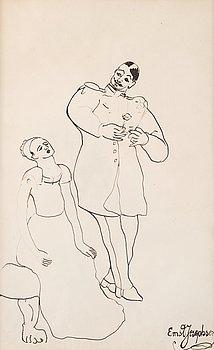 """405. Ernst Josephson, """"Frieriet"""" (The Proposal)."""