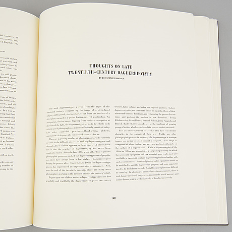 """Book, """"the journal of contemporary photography culture & criticism"""", volume 1, ed. john wood, edition 4500."""