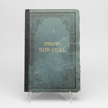 STIELER'S HAND-ATLAS, GOTHA: JUSTUS PERTHES, CA 1884.