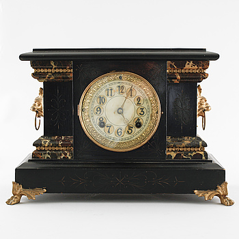 BORDSUR, New Haven Clock Co, New Haven, USA, 1800-talets andra hälft.