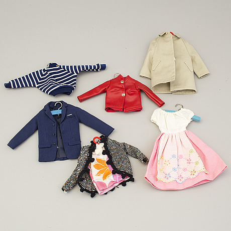 A big lot of assorted barbie clothes and accessories, mattel and others, 1960's