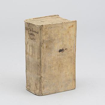 M. Tullii Ciceronis Epistolarum quae extant ad familiares libri XVI.Leipzig Weidmann 1723.