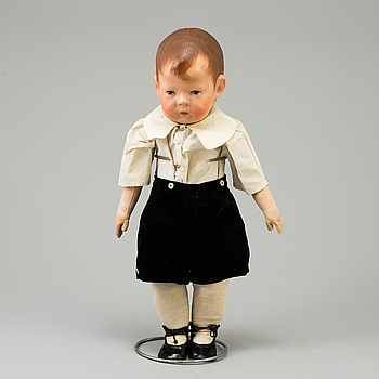 a Käthe Kruse doll, Germany 1920's.