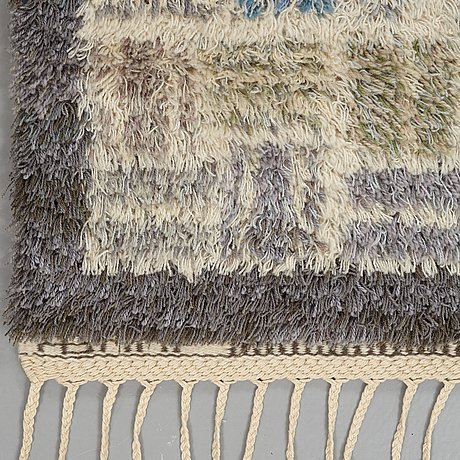 """Marianne richter, a carpet, """"angelika"""", knotted pile, ca 213 x 149,5 cm, signed ab mmf mr."""
