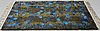 "Ulla brandt, a carpet, ""tjärn"", knotted pile, ca 177 x 125 cm, signed ab mmf ub bs."