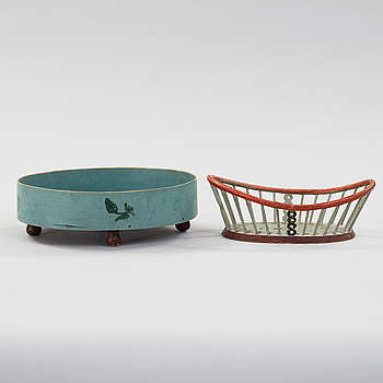 two baskets from the 19th century.