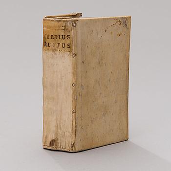 BOK, Quintus Curtius Rufus, om Alexander den Store, 1787.