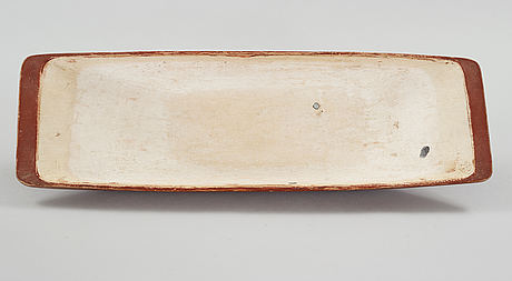 A wooden bowl from the 19th century