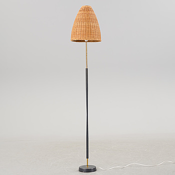A mid 20th century floor lamp by ASEA.