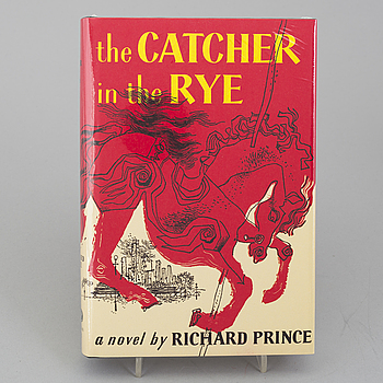 "RICHARD PRINCE ""The Catcher In The Rye"" American place , New York, 2011. Hardcover Edition of 500."