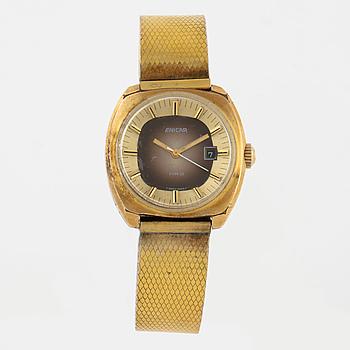 ENICAR, Mrd, armbandsur, 28 x 27 (29) mm,