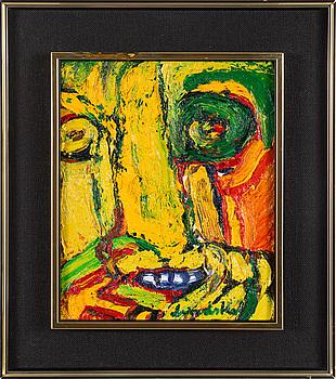 BENGT LINDSTRÖM, BENGT LINDSTRÖM, oil on canvas, signed.
