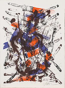 FERNANDEZ ARMAN, färgserigrafi, signerad och numrerad 99/150.
