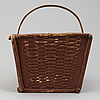 A basket from the 19th century.