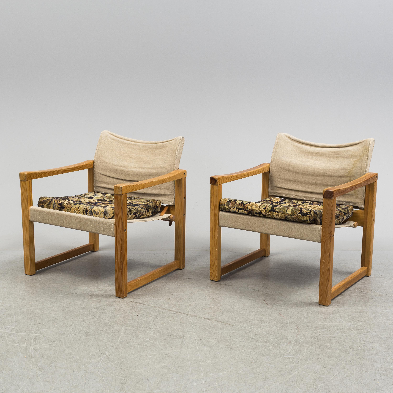 Auktionstipset - KARIN MOBRING Fåtöljer, ett par, Diana, IKEA ...