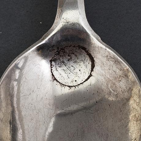 Sked, silver, baltikum 1700-tal.