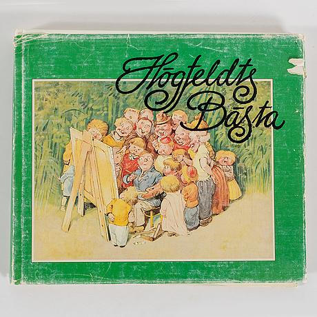 Robert högfeldt, mixed media on paper, signed r. högfeldt.