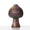 Wilhelm kåge, a 'farsta' stoneware vase, gustavsberg studio, sweden 1955.